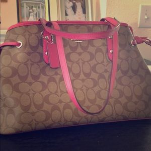 New Coach (pink signature)
